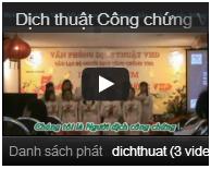 Kênh video dịch thuật VHD